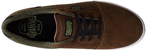 Herren Skateschuh Circa Goliath Skate Shoes Pinecone/Black