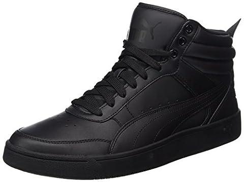 Puma Unisex-Erwachsene Rebound Street v2 L Sneaker, Schwarz (Black-Black), 40.5 EU