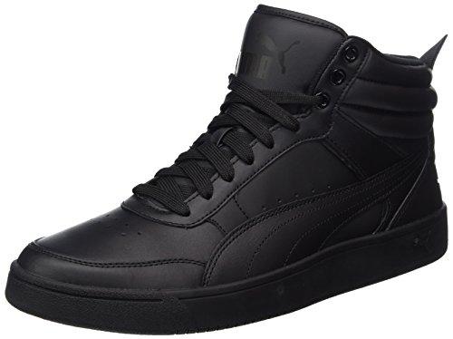 Puma rebound street v2 l, scape per sport outdoor unisex-adulto, nero black black, 43 eu