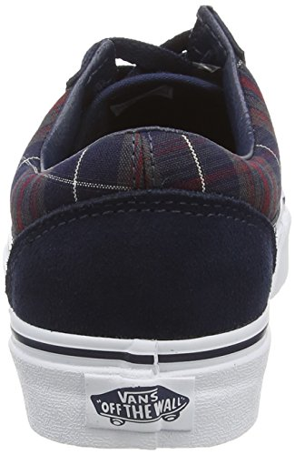 Vans U Old Skool Scarpe Da Ginnastica Basse, Unisex Adulto (plaid) dress b