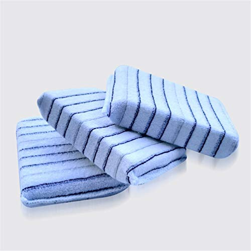 TAOHOU Almohadillas aplicadoras de Cera de Esponja Encerada de Alta Densidad de Pulido Esponjas Azul