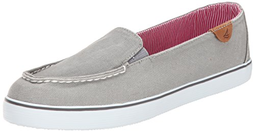 Sperry Top-Sider Women's Zuma Fashion Sneaker, Charcoal, 8 M US Charcoal