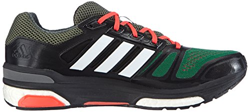 Adidas, Supernova Sequence, Scarpe sportive, Uomo Multicolore (Base Green S15/Ftwr White/Core Black)