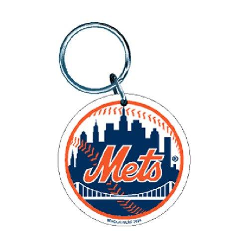WinCraft New York Mets Premium MLB Schlüsselanhänger (New York Mets)