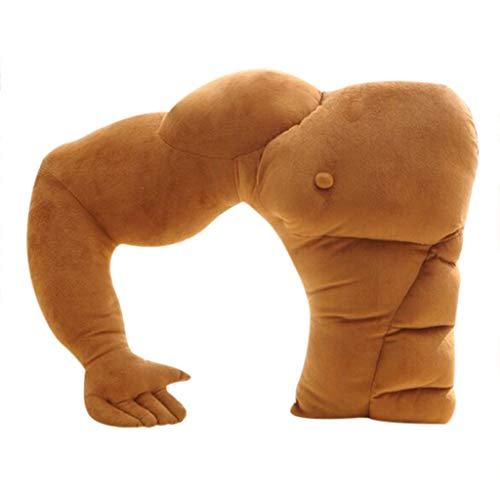TIREOW U-förmigen Freund Arm Kissen Plüschtiere Weiche Gefüllte Muskel Arm Schlafen Umarmung Spielzeug Nackenkissen Sofakissen