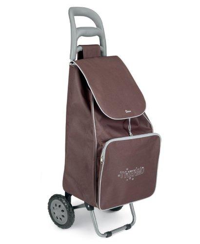 Metaltex 415280035 Krokus Shopping Trolley, braun