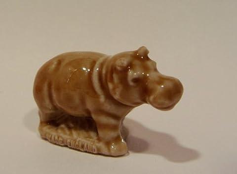 Bébé Hippopotame–Thé Rose Rouge Wade Figurine, American Series # 11983–1985