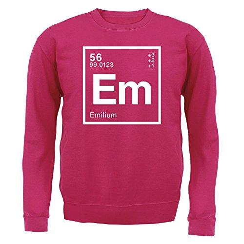 emilie-element-periodique-enfant-sweat-rose-m-5-6-ans
