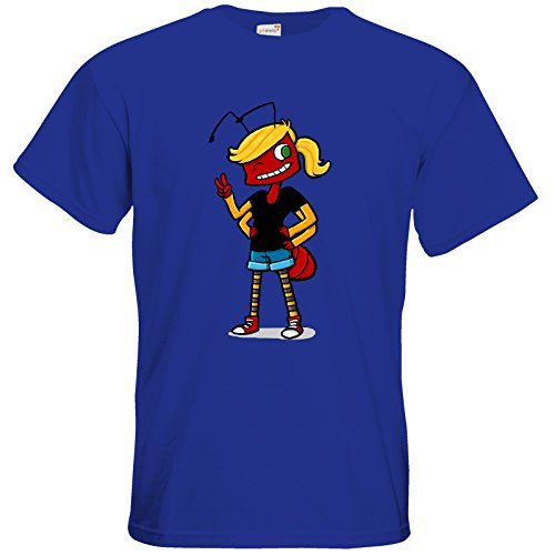 getshirts - Tom Wendels Loot Box - T-Shirt - AntMe! Antoinette Royal Blue