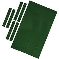 B Baosity 1 Conjunto de Tapete de Mesa de Billar Hecho de Lana y Nylon - Verde