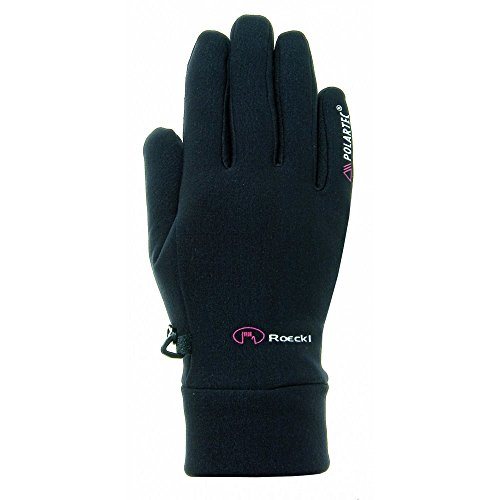 Roeckl Erwachsene Pino Handschuhe, Schwarz, 9