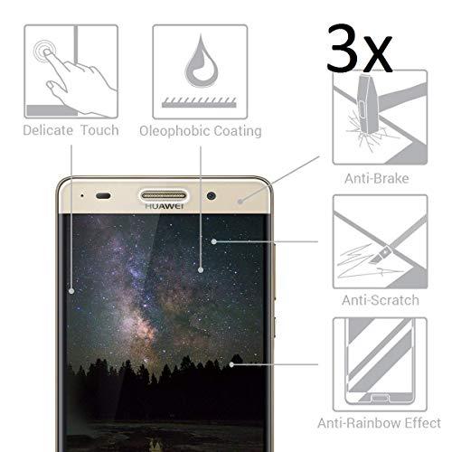Cardana | 3X bruchsicheres Panzerglas für Huawei G Play Mini | Schutzfolie aus 9H Echt Glas