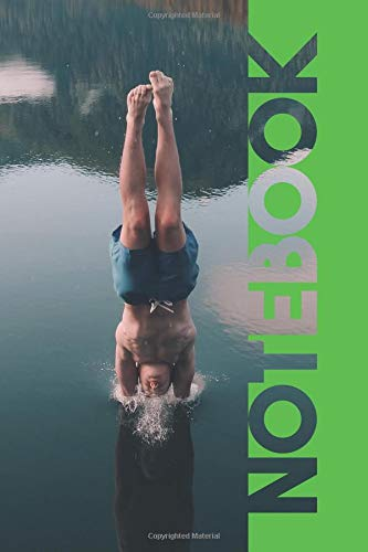 Notebook: Open Water Swimming Chic Composition Book for Triathlon Coaching por Molly Elodie Rose