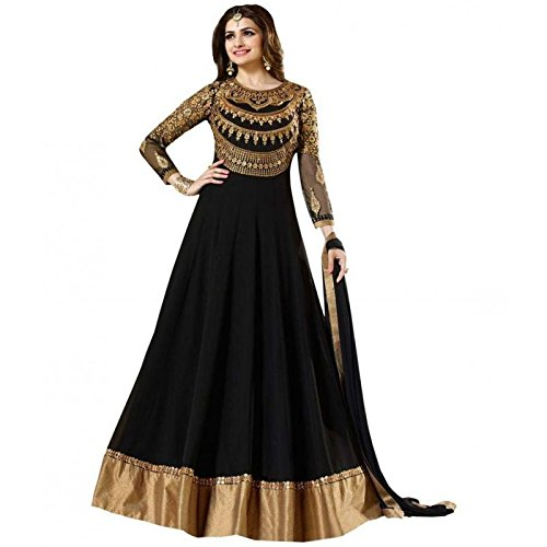 Mordenfab Heavy Diamond Work Neck Bollywood Suits for Women Indo-Western for Party...