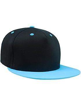 Everyhead Chico Snapback Gorra De Béisbol Flat-Cap Visor Capacete Gorro Pantalla Verano Dos Colores Para Niños...