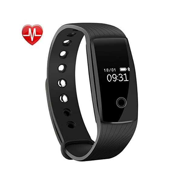 Fitness-Tracker-Mpow-Heart-Rate-Monitor-Tracker-Smart-Bracelet-Activity-Tracker-Bluetooth-Pedometer-with-Sleep-Monitor-Smartwatch-for-iPhone-Samsung-Other-Android-or-iOS-Smartphones-for-Adults-Kids