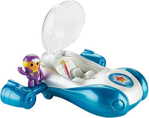Fisher-Price – GO Jetters – Xuli & Turbovroum – Figurine et Véhicule Géo Jet