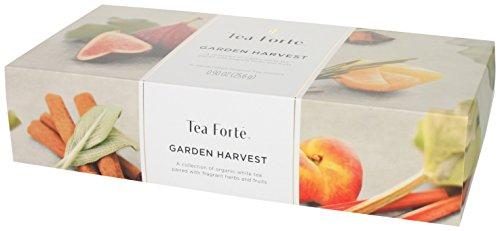 Tea forté Garden Harvest - Petite Presentation Box mit 10 Tee-Pyramiden, 1er Pack (1 x 25,6 g)