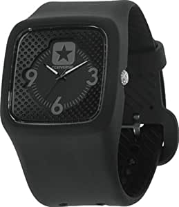 Converse VR030-005 40mm Black Plastic Band & Case Men's & Women's Watch