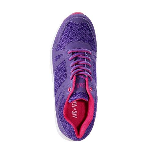 HSM Schuhmarketing, Scarpe outdoor multisport donna viola Violett Violett
