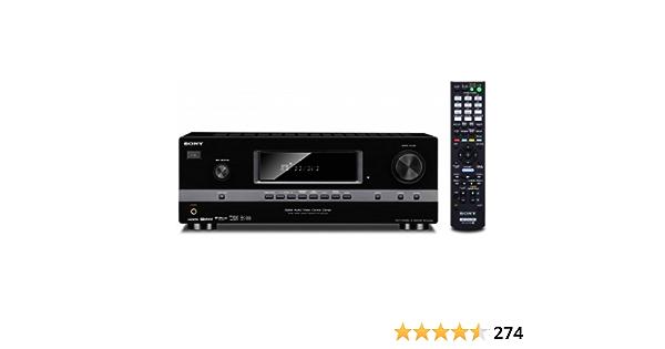 Sony Str Dh520 7 1 Surround Receiver 4x Hdmi Eingänge 1x Hdmi Ausgang 3d Fähig Schwarz Audio Hifi