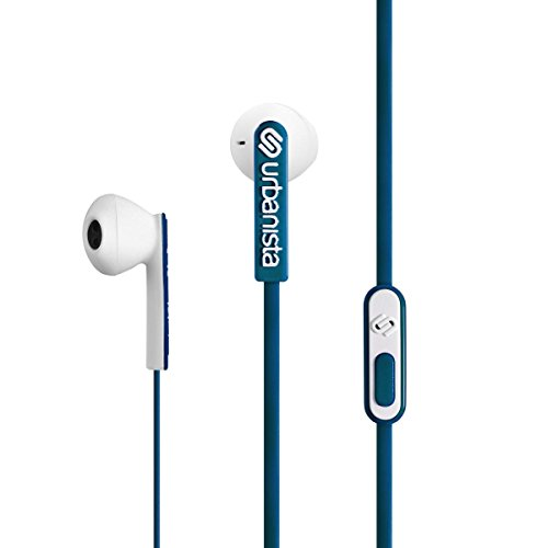 Urbanista San Francisco Dentro de oído Binaural Alámbrico Azul, Blanco - Auriculares (Alámbrico, Dentro de oído, Binaural, Intraaural, 20-20000 Hz, Azul, Blanco)