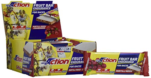 Fruit bar (mirtilli rossi) - confezione da 24 barrette da 40 g