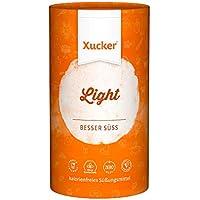Xucker Light 1kg kalorienfreie Zuckeralternative Erythrit, natürlich ohne Gentechnik in der Dose - glutenfrei und vegan - aus der EU