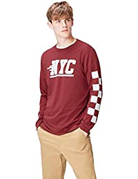 FIND T-Shirt NYC a Manica Lunga Uomo