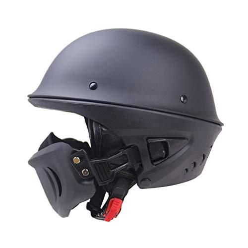 Lsrryd Helm Motorrad Ghost Recon Erwachsene Rogue Cruiser Dot-Zertifizierung Unisex-Erwachsene Half Street