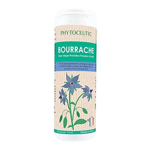 Phytoceutic Huile Bourrache Bio 180 Capsules