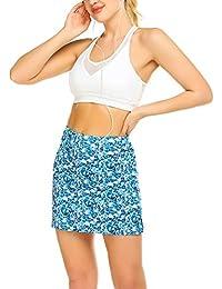 MAXMODA - Pantalones cortos de deporte para mujer