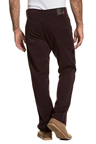 JP 1880 Herren große Größen bis 66 | Hose | 5-Pocket, Regular Fit | Zipper, Stretch-Komfort | aubergine, Baumwolle | aubergine 58 711599 83-58