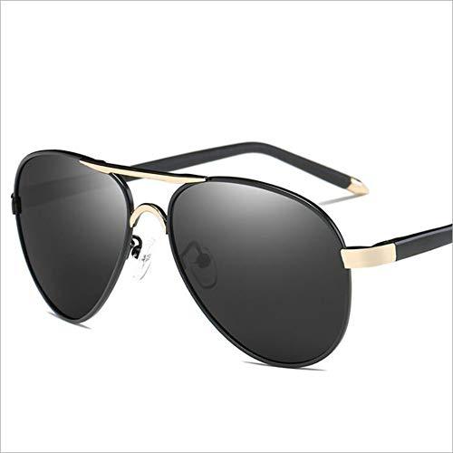 Polarisierte Sonnenbrille, Metallische Bunte Gläser Mode Fahren Sonnenbrillen, Full-Frame-Brille Outdoor-Sport,D