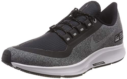 Nike Herren AIR ZM Pegasus 35 Shield Fitnessschuhe, Schwarz (Black/White/Cool Grey/Vast Grey/White 001), 43 EU