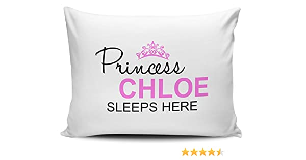 KEEP CALM I/'M A PRINCESS LUXURY SATIN CUSHION COVER CAN BE PERSONALISED