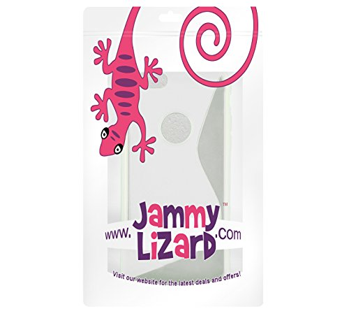 JAMMYLIZARD | Coque iPhone 6 6s, coque GEL silicone souple invisible, Rouge TRANSPARENT