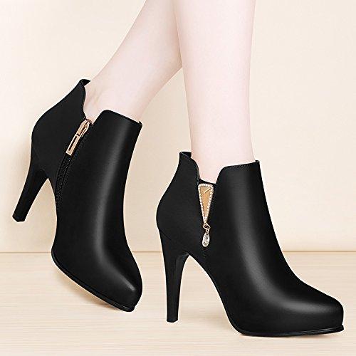 KHSKX-Pierre Martin A Bien Martin Bottes Bottes Chaussures Confortables Court Bottes Femmes Thirty-nine