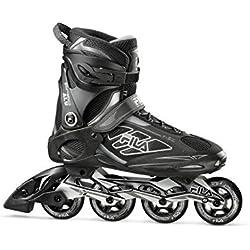 Fila Skates ROFIPRALM743000 Rollers en Ligne Homme, Noir, Taille : 43