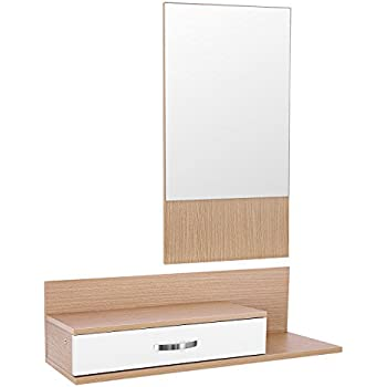 Songmics Minimalist All Purpose Wall Mirror With Floating