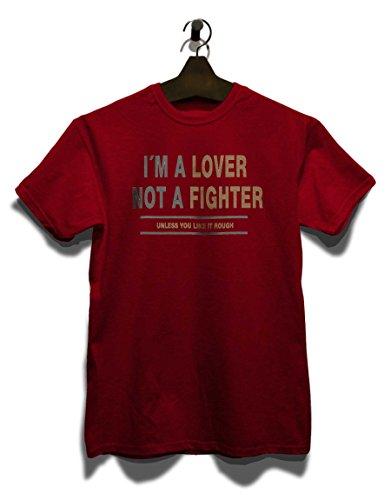 Im A Lover Herren T-Shirt Bordeaux