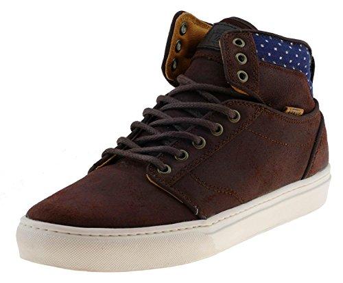 Vans Alomar Plus Unisex-Erwachsene Sneaker Braun (suede/dots/demitasse/marshmallow)