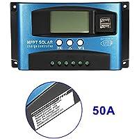 Alftek 40A-100a MPPT Panneau Solaire Régulateur de contrôleur de Charge 12V/24V Mise au Point Automatique Appareil de Suivi