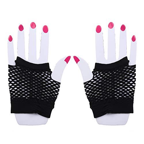 BESTOYARD Mujeres Fish Net Gloves Bar KTV Nightclub