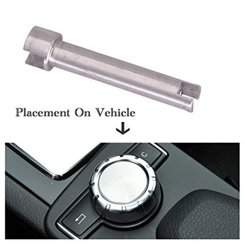Lorsoul COMAND-Controller Drehschalter-Knopf Knob Wellenachse Pin Ersatz für Mercedes Benz W204 / W212 2408700879