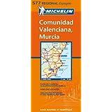 Carte régional : Environs de valence, Murcie,Espagne,  n°577