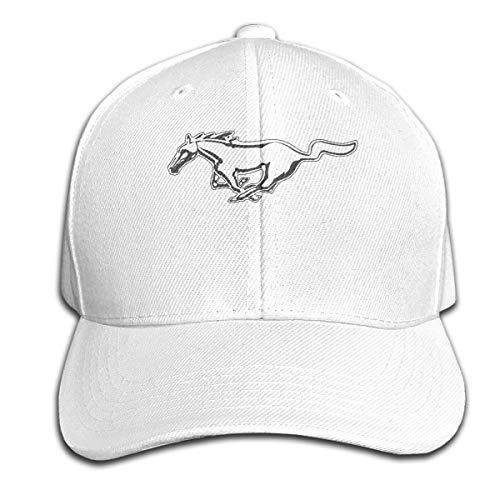 Mustang Auto Quick Dry Outdoor Sonnenhut Unisex Sport Baseball Caps einstellbar
