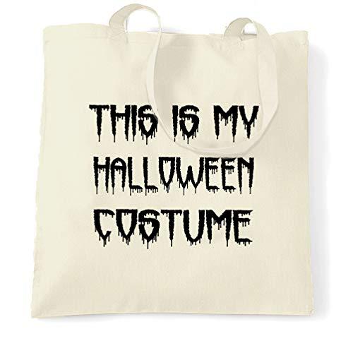 Tim And Ted Neuheit Halloween Tragetasche Dies ist mein Kostüm Natural One - Einzigartige Bruder Und Schwester Kostüm
