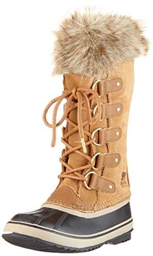 Sorel Joan of Arctic, Botas de Invierno para Mujer, Marrón Camel Brown/Black 224, 38 EU
