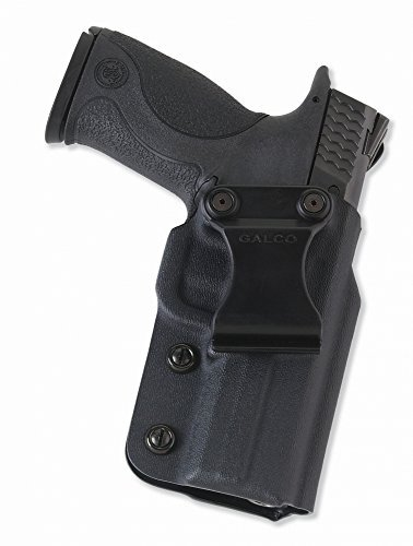 Galco Triton Kydex IWB Holster for 1911 3-Inch Colt, Kimber, Para, Springfield (Black, Right-hand) by Galco Gunleather